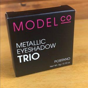 ModelCo Makeup - ModelCo 🌺 Metallic Eyeshadow Trio Positano NIB